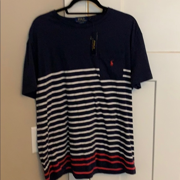 a9642a83 Polo by Ralph Lauren Shirts | Polo Ralph Lauren Navy White Striped ...